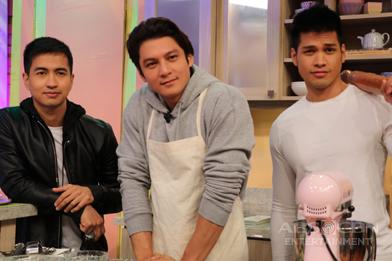 PHOTOS: Magandang Buhay with Joseph Marco, Vin Abrenica and RK Bagatsing