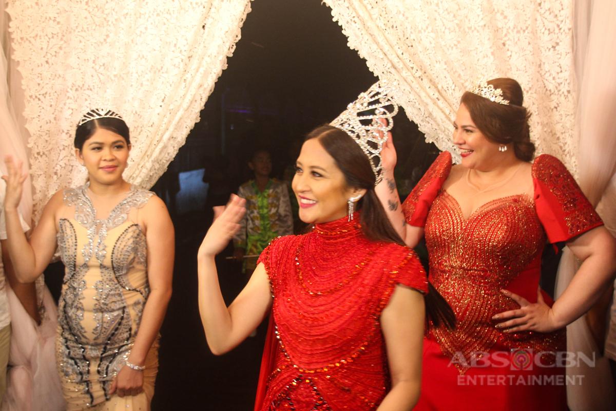 PHOTOS: Momshie Sagala with Karla, Melai and Jolina