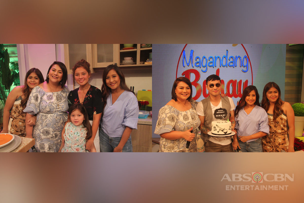 PHOTOS: Magandang Buhay with Andi Eigenmann and Kean Cipriano