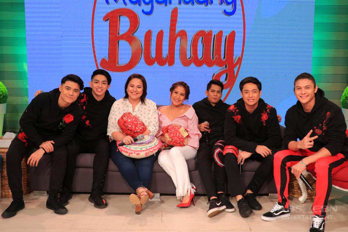 PHOTOS: Magandang Buhay with BoybandPH