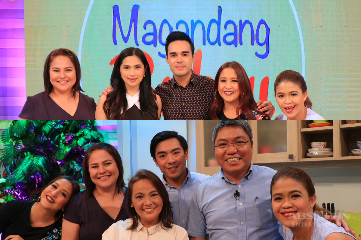 PHOTOS: Magandang Buhay with Jorge & Daisy Carino and Diana Zubiri & Andrew Smith