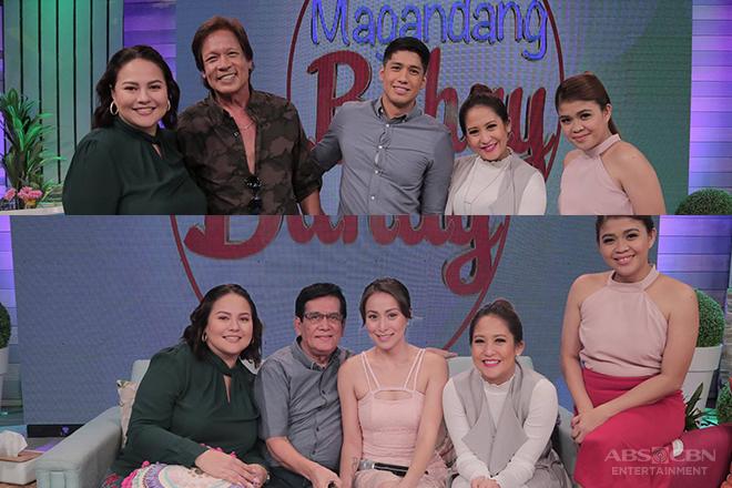 PHOTOS: Magandang Buhay with Aljur and Cristine