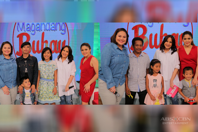 PHOTOS: Magandang Buhay with Gigil Kid Carlo and Geography Genius Clyde