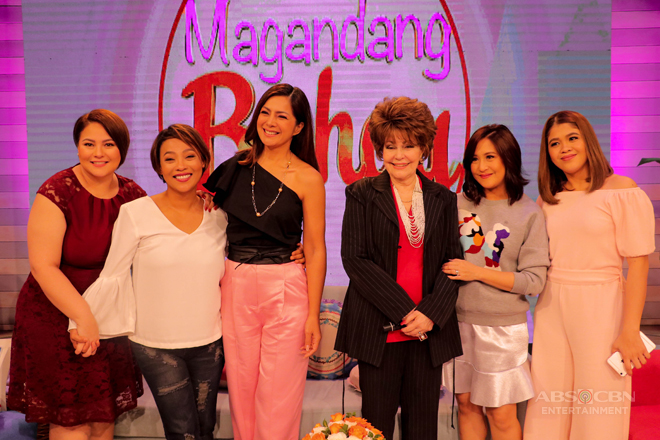 PHOTOS: Magandang Buhay with Alice Dixson and Pilita Corrales