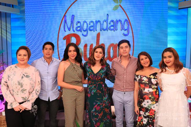 PHOTOS: Magandang Buhay with the stars of Asintado