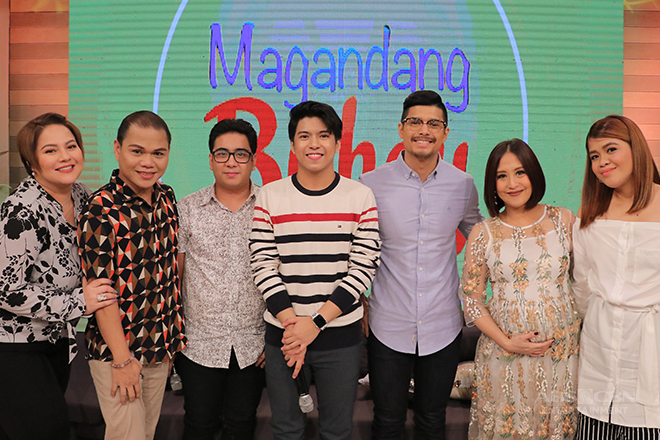 PHOTOS: Magandang Buhay with JC & Pooh and Nash & Igi Boy