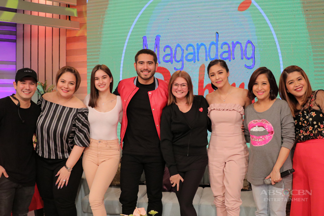 PHOTOS: Magandang Buhay with Kim, Gerald and Coleen