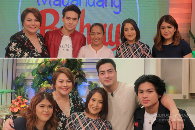 PHOTOS: Magandang Buhay with Wendell Ramos and Jameson Blake