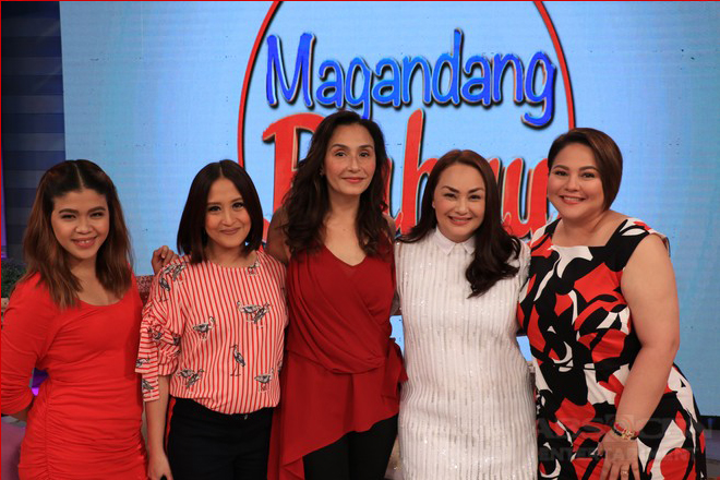 PHOTOS: Magandang Buhay with Teresa Loyzaga and Donita Rose