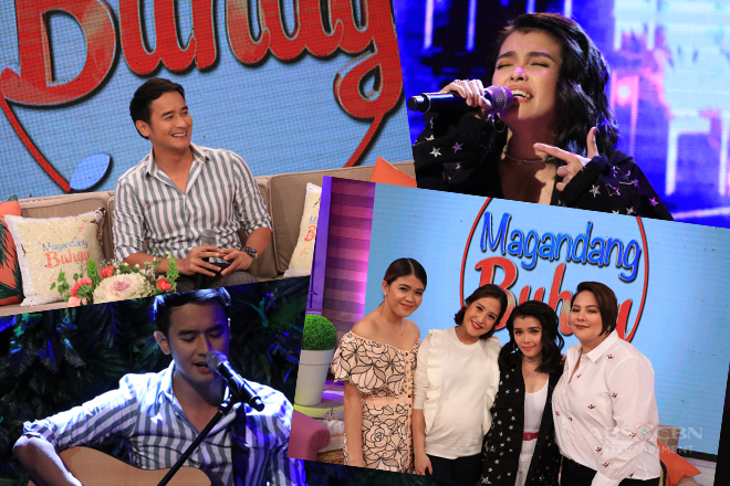 PHOTOS: Magandang Buhay with JM de Guzman and KZ Tandingan