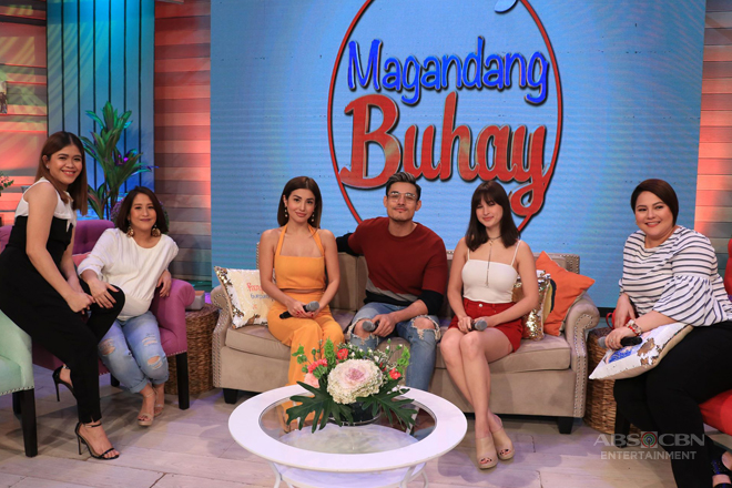 PHOTOS: Magandang Buhay with Xian, Coleen and Nathalie