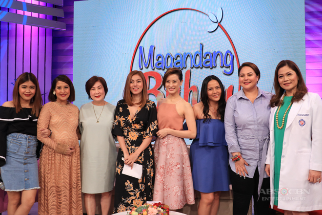 PHOTOS: Magandang Buhay with Maricar Reyes, LJ Moreno and Maricar de Mesa