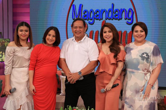 PHOTOS: Magandang Buhay with Roselle Nava
