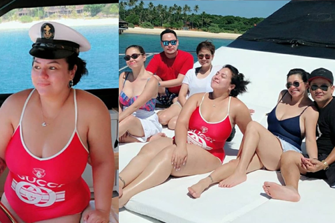 LOOK: Momshie Karla enjoying Balesin with friends