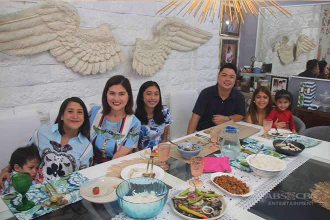 PHOTOS: Masarap na kwenTUEhan at lutuan sa exclusive home tour ni Dimples Romana