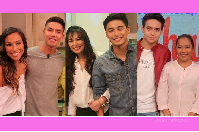 Our favorite Kapamilya actors who are proud mamas' boys
