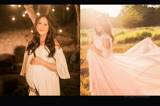LOOK: Momshie Jolina's glowing beauty on her Maternity shoot