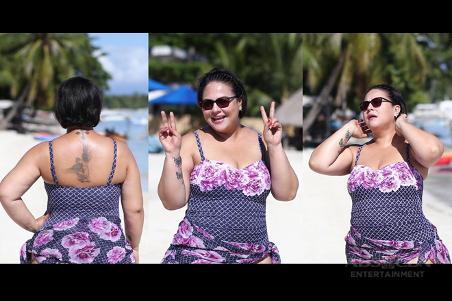 LOOK: Karla Estrada proudly flaunts her sexy body in Bohol!