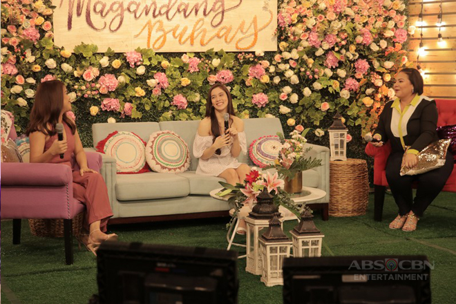 PHOTOS: Magandang Buhay with Jackque Gonzaga aka It's Showtime's Ate Girl