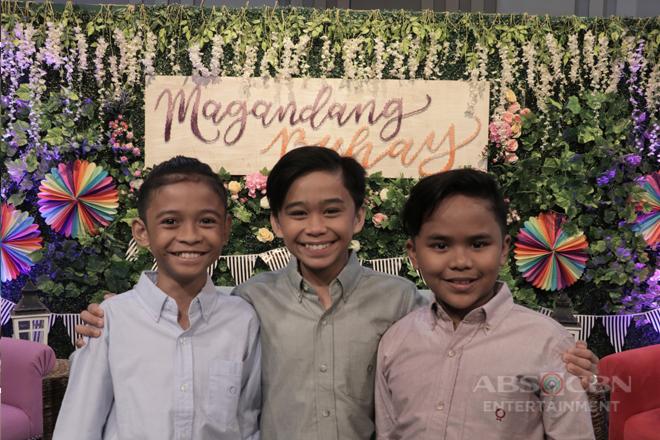 PHOTOS: Magandang Buhay with TNT Boys