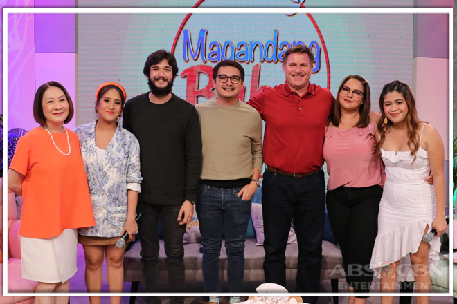 PHOTOS: Magandang Buhay with Dominic Ochoa, Lee O'Brian and Matt Evans