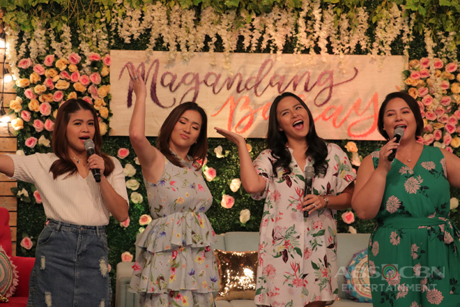 PHOTOS: Magandang Buhay with Angeline Quinto and LJ Moreno