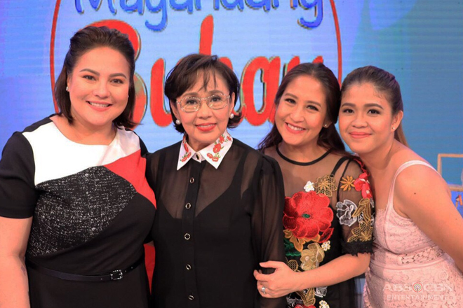 """Magandang Buhay"" throws two-part birthday celebration for 'Momshie for All Seasons' Vilma Santos"