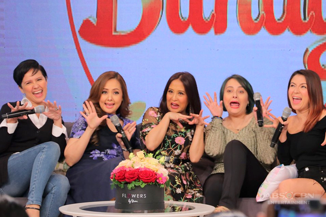 "Momshie Jolina celebrates birthday and 30th showbiz anniversary in ""Magandang Buhay"""