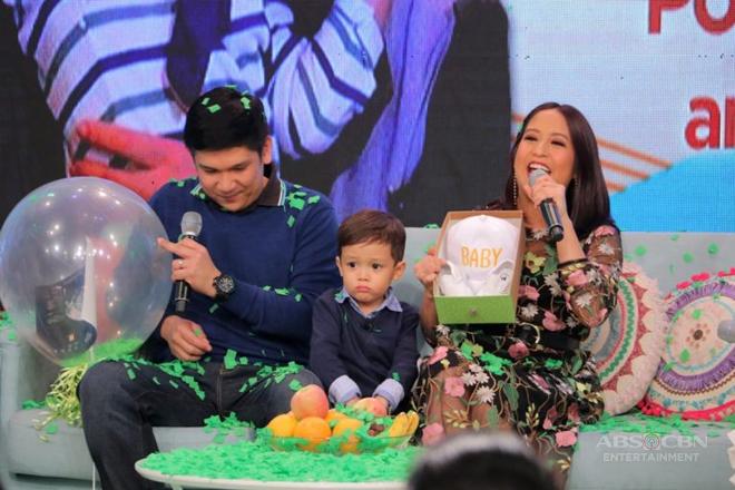 "Jolina announces pregnancy in ""Magandang Buhay"""