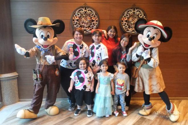 """Momshies and anakshies explore Hong Kong Disneyland in """"Magandang Buhay"""""""