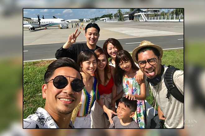 It's Showtime Family on their way to Balesin for #ColeenGotTheBill wedding