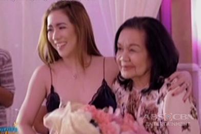 Angeline, ikinuwento ang surprise birthday niya para kay Mama Bob