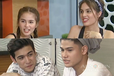 Elisse, Michelle, Marco and Christian play Boys vs Girls
