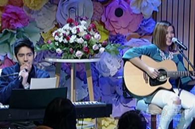 "Robi and Ai perform ""Thinking Out Loud"" on Magandang Buhay"