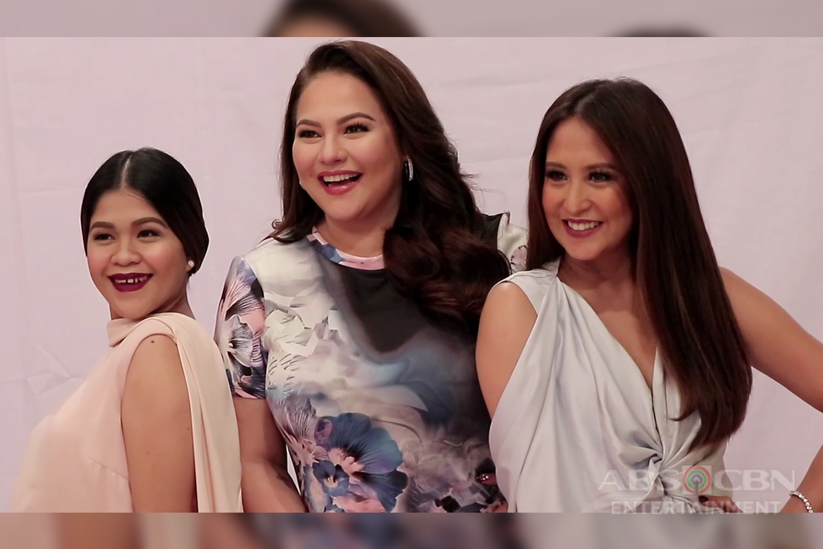 BEHIND-THE-SCENES: Momshies Karla, Jolina and Melai at the Magandang Buhay Anniversary Promo Shoot