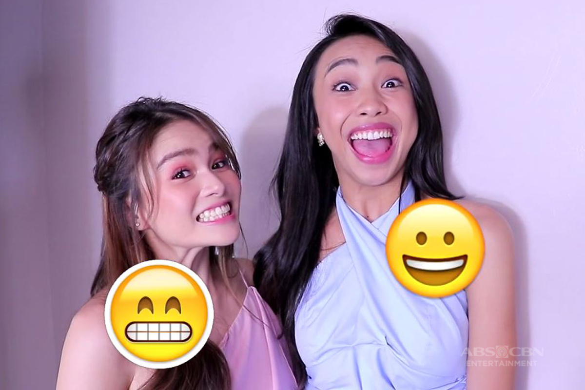 WATCH: Maymay at Elisse, sinubukan ang kakaibang Emoji Challenge ng Magandang Buhay!