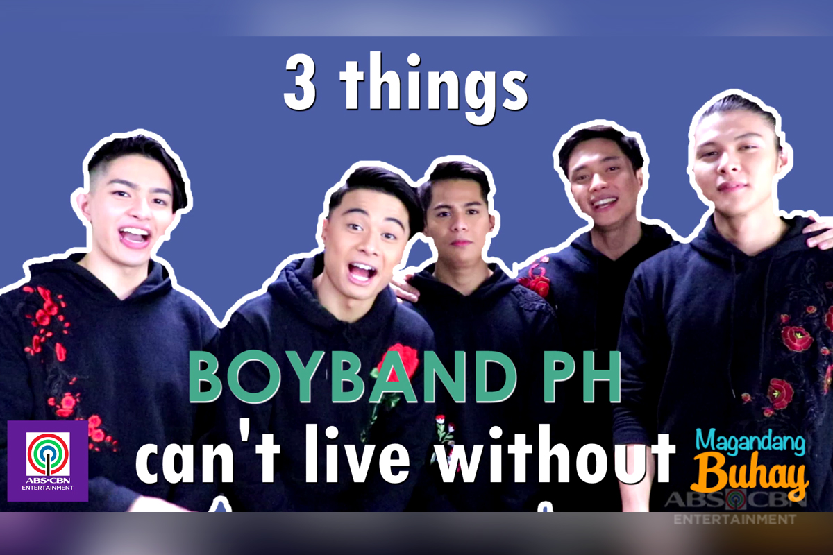 MB EXCLUSIVE: 3 Things BoybandPH Can't Live Without