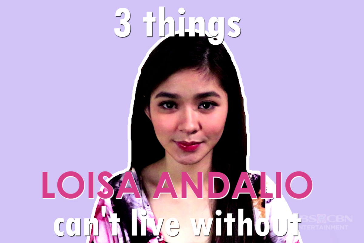 MB EXCLUSIVE: 3 Things Loisa Andalio Can't Live Without