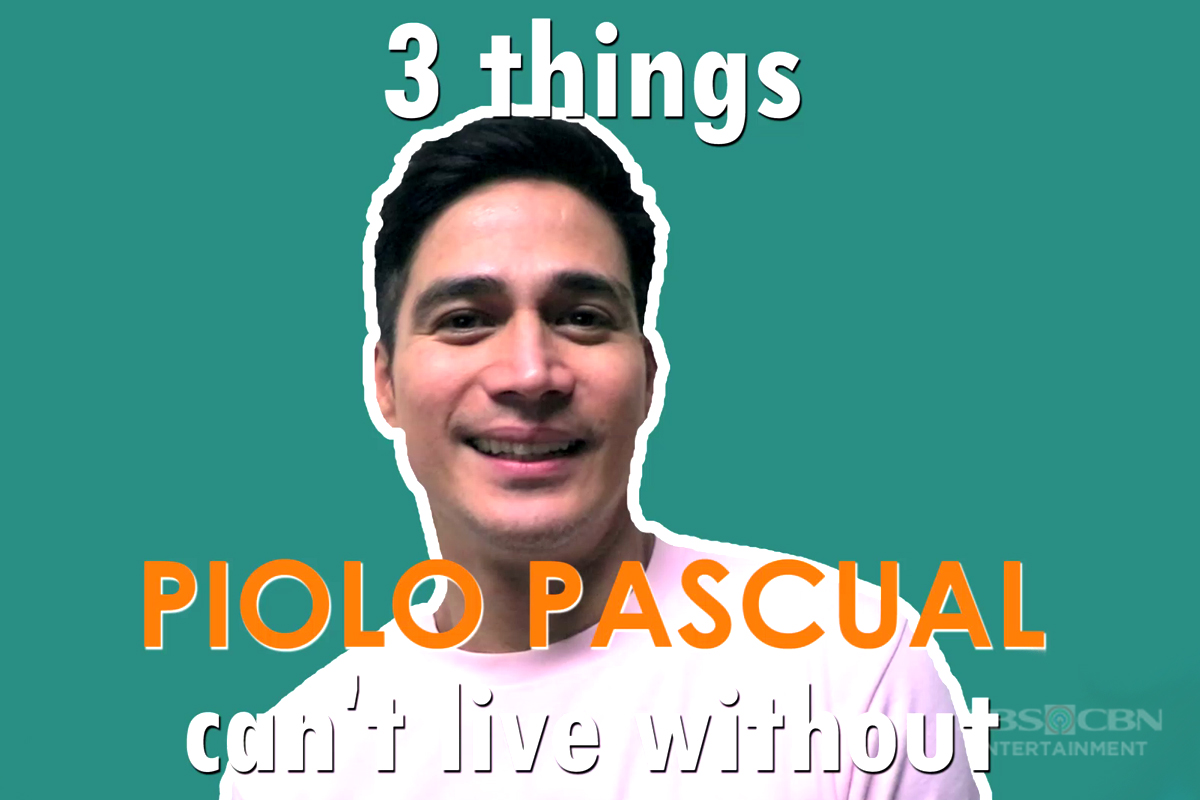 MB EXCLUSIVE: 3 Things Piolo Pascual Can't Live Without