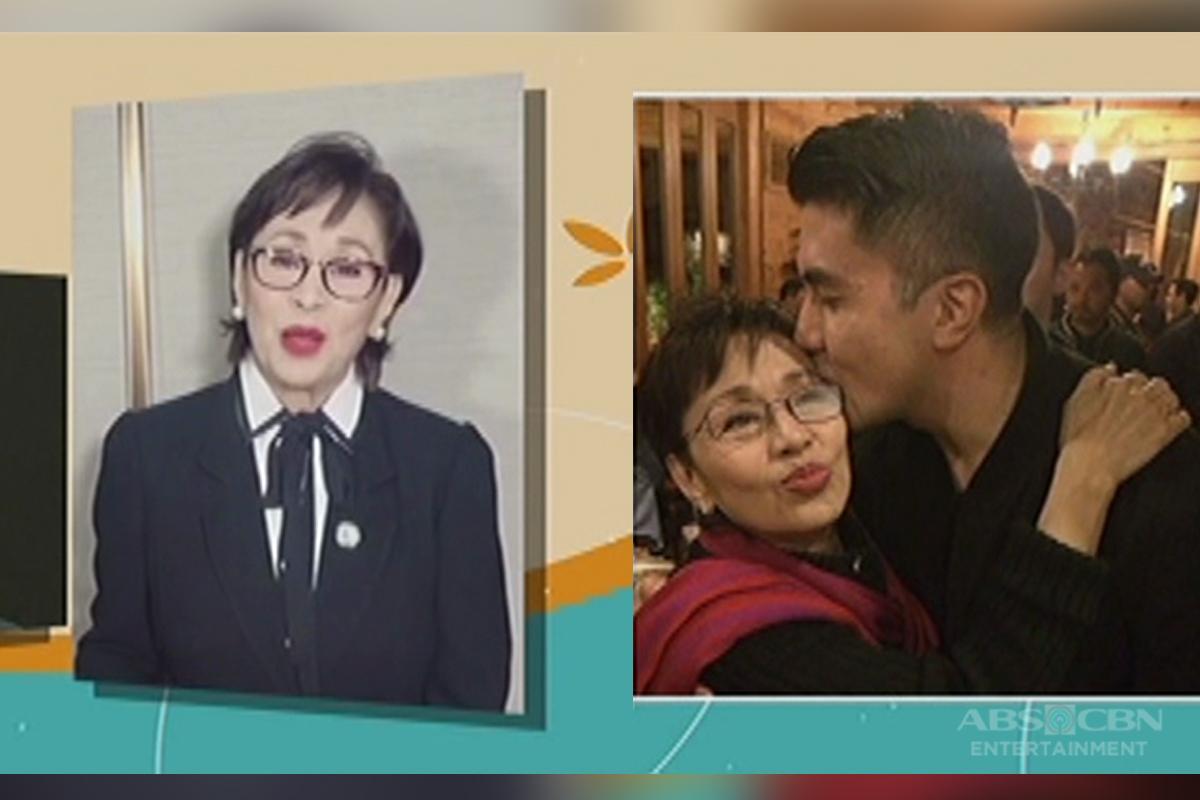 Vilma Santos, may nakaka-touch na mensahe para sa kanyang anak na si Luis