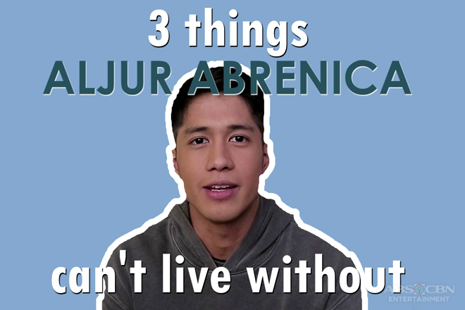 MB EXCLUSIVE: 3 things Aljur Abrenica can't live without