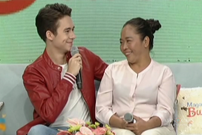 Jameson's anakshie promise to his mom
