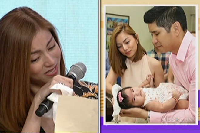 Maricar de Mesa gets emotional while reading her husband's letter