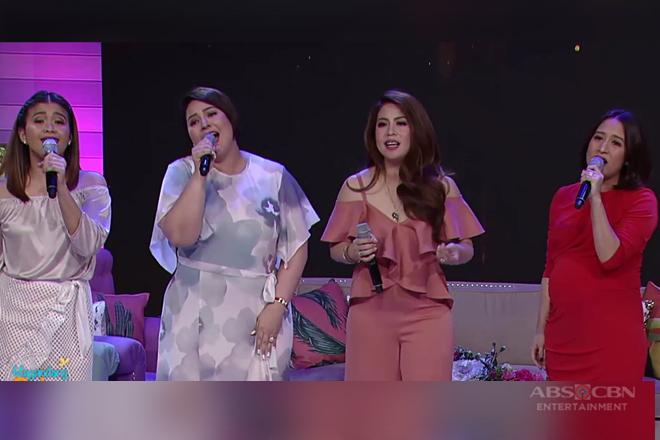 Momshie Karla, Melai, Jolina at Roselle muling kinanta ang hugot song na