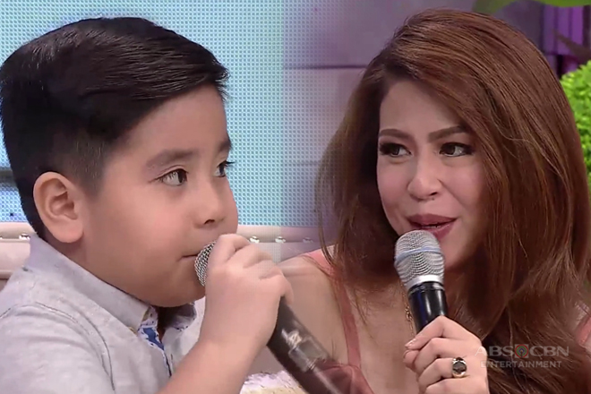 Roselle receives a cute and touching message from her son