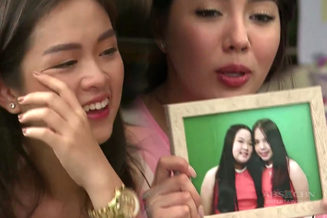 Trina gets emotional while giving her gift to Julia