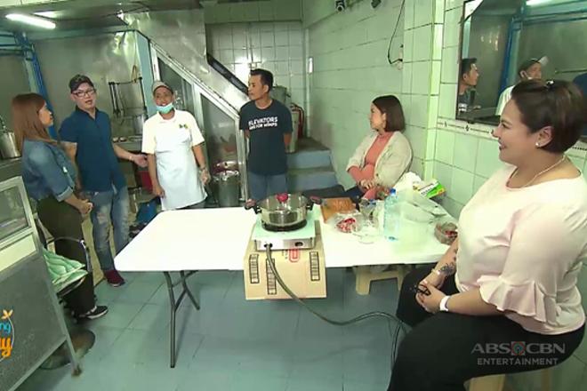 Momshie Karla, Jolina at Melai, binisita ang pagawaan ng Taho