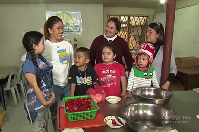 Xia, Carlo, Jordan at Pele, masayang pinanood ang paggawa ng Strawberry Jam