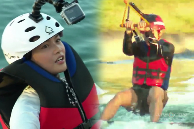 McLisse, first time sumabak sa wakeboarding
