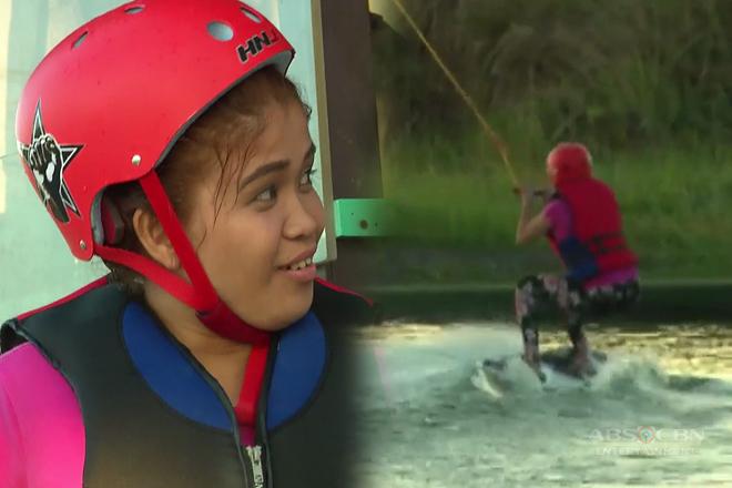 Momshie Melai, nagpakitang gilas sa pagwe-wakeboarding